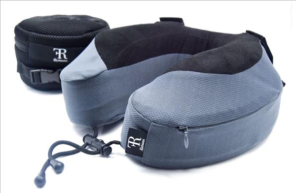 Comfort pillow with straps  Grey